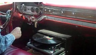 Record Player Car