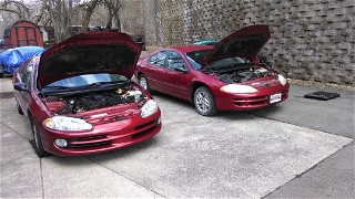 My 2000 Intrepid and 1999 parts car