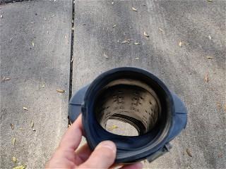 Original intake tube