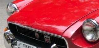 MGB nose 1971