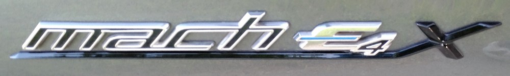 2021 Ford Mach-E side badge