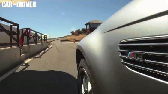 BMW E46 M3 On Track at Ascari Circuit