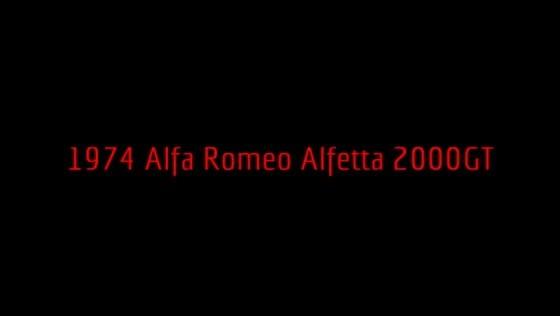1974 Alfa Romeo Alfetta 2000GT S.Gliatis-V.Papaidis