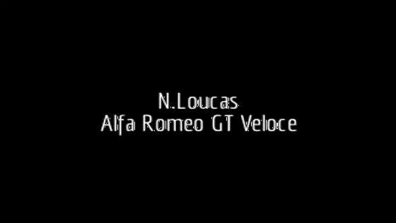 Alfa Romeo GT Veloce (N.Loukas-V.Papaidis) at Megara racing circuit 2013