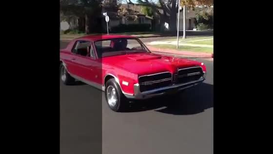 68 Mercury Cougar GTE