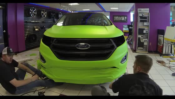 2015 Ford Edge Time-Lapse Vehicle Wrap