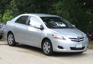 07 Toyota Yaris Sedan