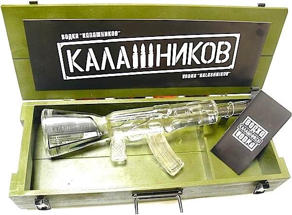 Kalashnikov Automaat Kastiga