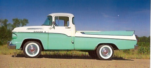1957 Dodge D 100 Sweptside