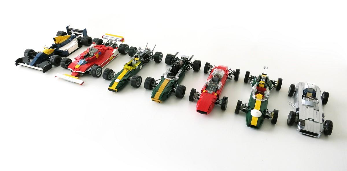 Bob Alexander Lego Racing Cars