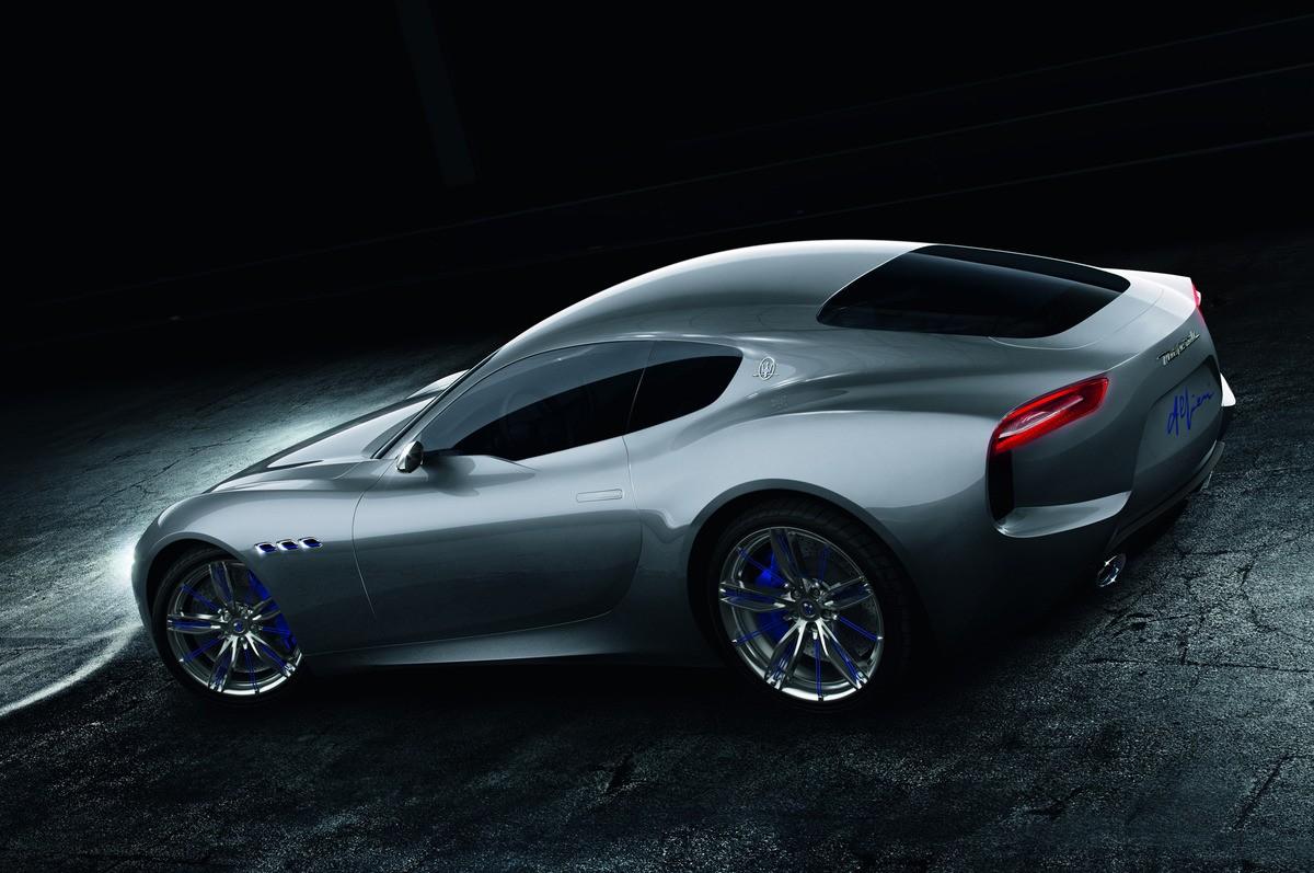 Maserati Alfieri Concept Rear Three Quarter 03