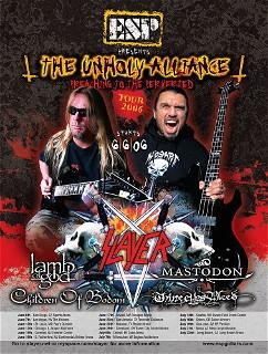 Esp 2006 Slayer Tour Ad