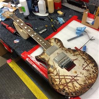 Custom ordered ESP RZK-II Left Handed