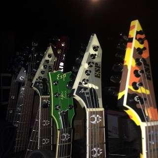 Soulfly's full boat of ESP's