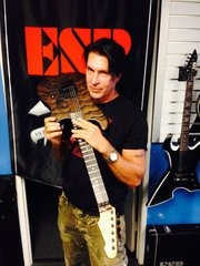 George Lynch with 2016 LTD prototype
