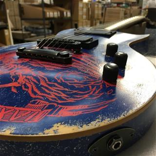 ESP Custom Shop Will Adler Warbird