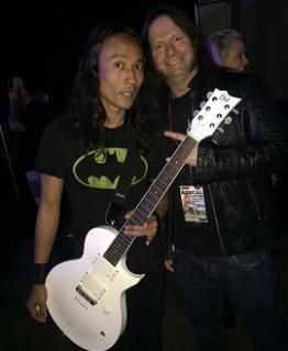 Ted Aguilar (Death Angel) and Gary Holt (Slayer/ Exodus)