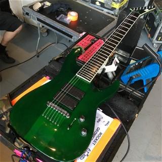 ESP Custom Stef-7-B in green