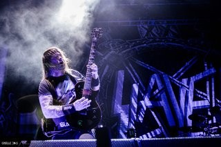 Gary Holt (Slayer) playing his signature series LTD GH-600