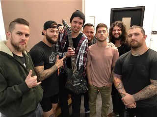 Impericon contest winner with Whitechapel
