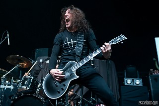 Frank Bello with an E-II Eclipse
