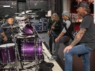 Metallica soundcheck Dublin
