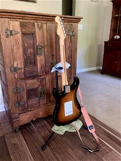 Fender American Original '50s Stratocaster, flank