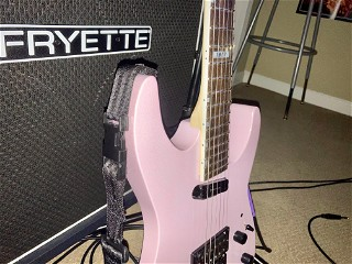 LTD Mirage Deluxe '87 Pearl Pink (2020), angle, with flash