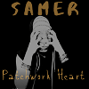 New Single Patchwork Heart