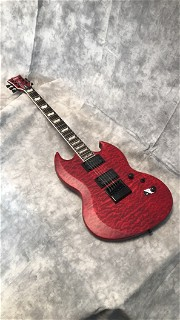 LTD Viper-1000 Evertune in See Thru Black Cherry Satin