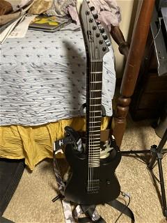 Ltd Black Metal Guitar2