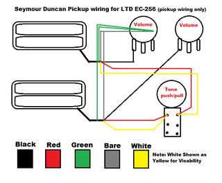 ec-256 pickups, electronics - the esp guitar company  esp guitars