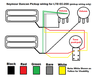 [SODI_2457]   EC-256 Pickups, Electronics - The ESP Guitar Company | Bill Lawrence Wiring Diagrams |  | ESP Guitars