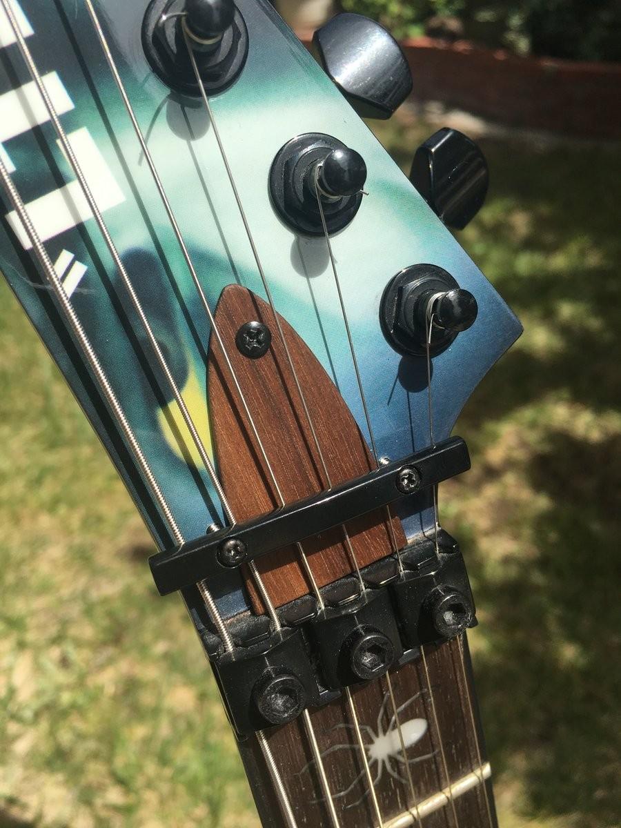 Handmade by David M. for ESP guitars.