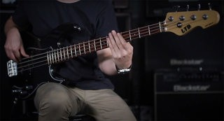 LTD AP-204 Bass Demo