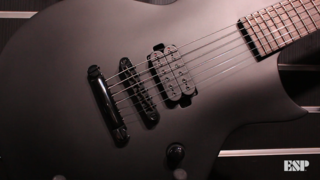 LTD Black Metal Series Spotlight - ESP at NAMM 2018