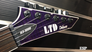 LTD 1000 Series Spotlight - ESP at NAMM 2018