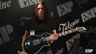 Alex Skolnick (Testament) - ESP at NAMM 2018
