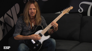 Doug Aldrich - ESP at NAMM 2018