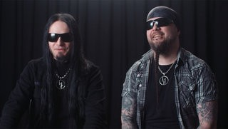Dimmu Borgir on their ESP Guitars