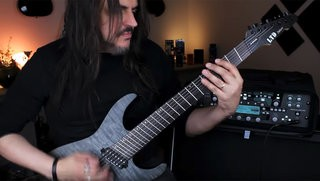 Silas Fernandes on the LTD Deluxe M-1007 Multi-Scale