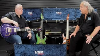 The Tone King talks ESP USA at Chuck Levin's