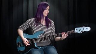 LTD AP-4 Bass Demo by Nikki Stevens