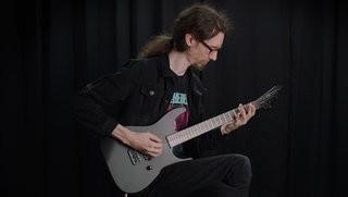 LTD M-HT Black Metal Demo by Jack Fliegler