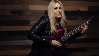 Stephanie Bradley Shreds the LTD Viper-400