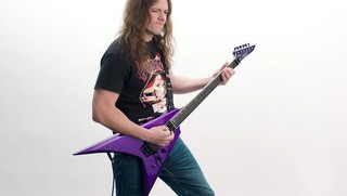 ESP USA V-II FR Demo by Chase Becker (Warbringer)