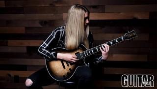 Stephanie Bradley Reviews the LTD Deluxe EC-1000T for Guitar World