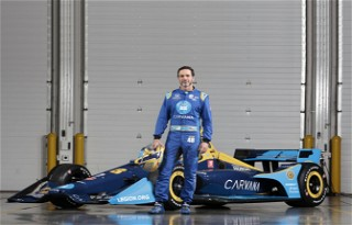 Jimmie Johnson Prepared for IndyCar Debut with the Help of FR Americas Team VRD