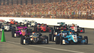 Kiwi Motorsport's Muhammad Ibrahim Claims First Virtual Win at Indianapolis