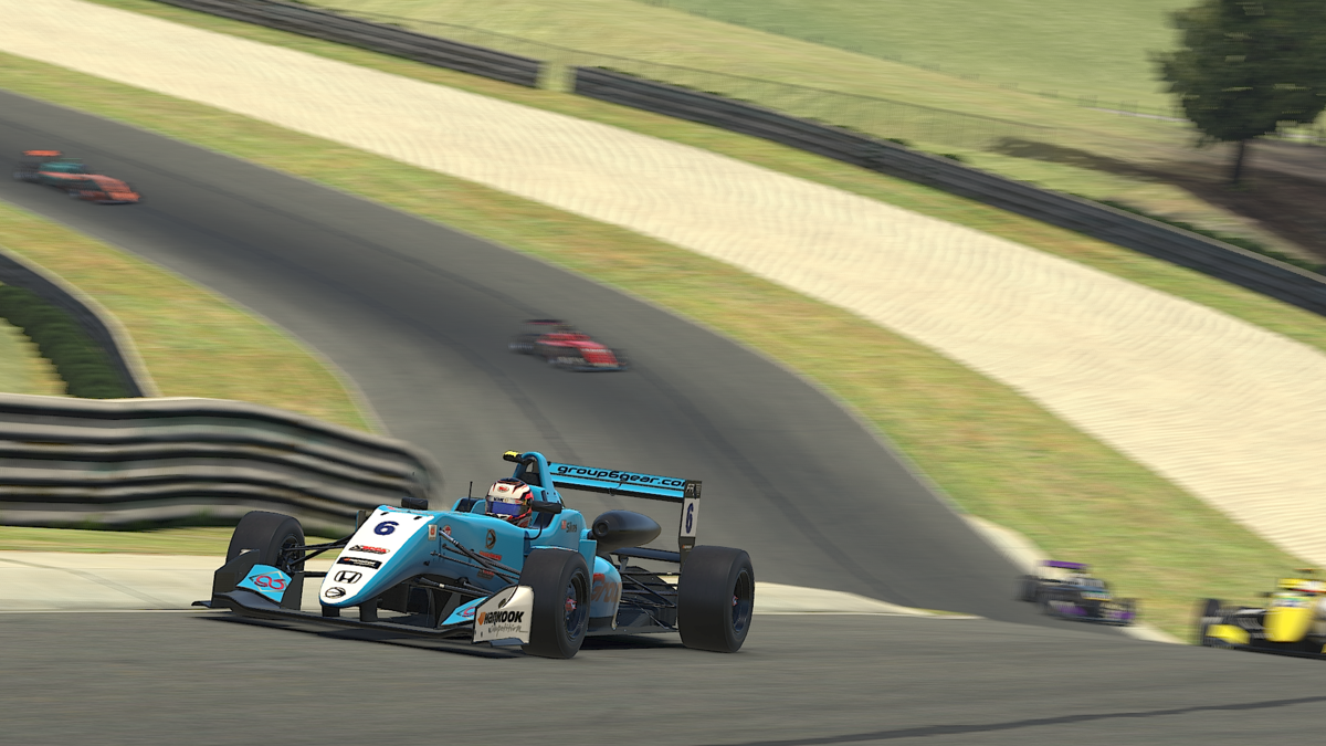 Simon Sikes Wins at Virtual Barber Motorsports park
